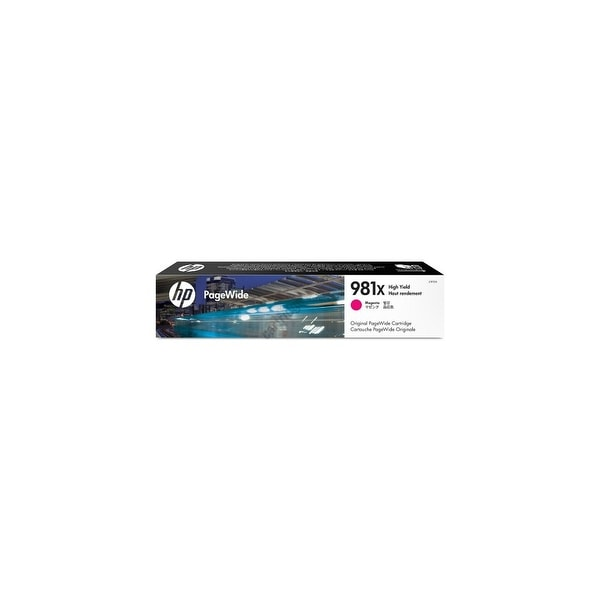 HP 981X High Yield Yellow Original PageWide Cartridge (L0R10A)(Single Pack)
