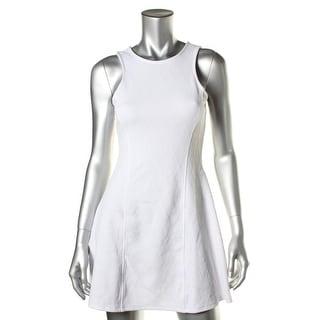 I'm in love with Derek Womens Juniors Casual Dress Matelasse Halter - S