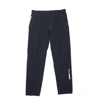 3BWest NEW Black Mens Size Large L Drawstring Elastic-Waist Pants