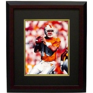 best sneakers 7d1fd 8c389 Peyton Manning unsigned Tennessee Volunteers 8x10 Photo Custom Framed  orange jersey