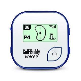Golf buddy gb7voice2wheblu golfbuddy voice 2 golf gps/rangefinder white/blue