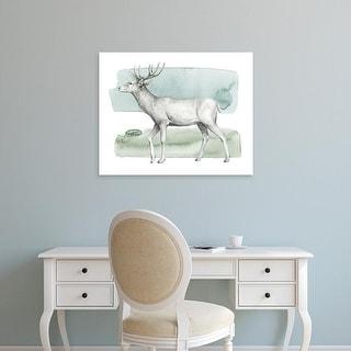 Easy Art Prints Grace Popp's 'Animale IV' Premium Canvas Art