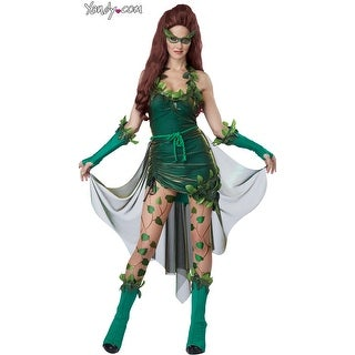 Lethal Beauty Costume, Womens Ivy Costume - Green