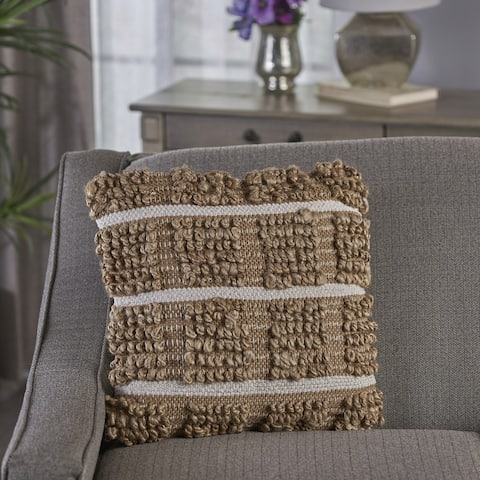Selki Handcrafted Boho Fabric Pillow by Christopher Knight Home