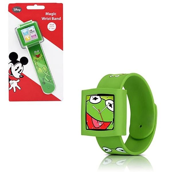 Disney Kermit Watch Wrist Band for Apple iPod Nano 6 - green
