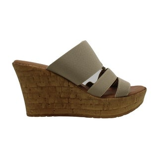 Link to ITALIAN Shoemakers Womens 5669s7 Canvas Peep Toe Casual Platform Sandals Similar Items in Women's Shoes