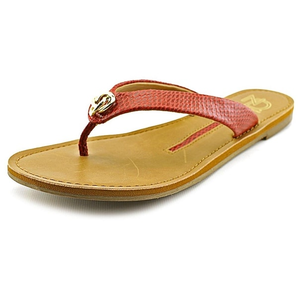 New Directions Pepe Women  Open Toe Synthetic  Thong Sandal