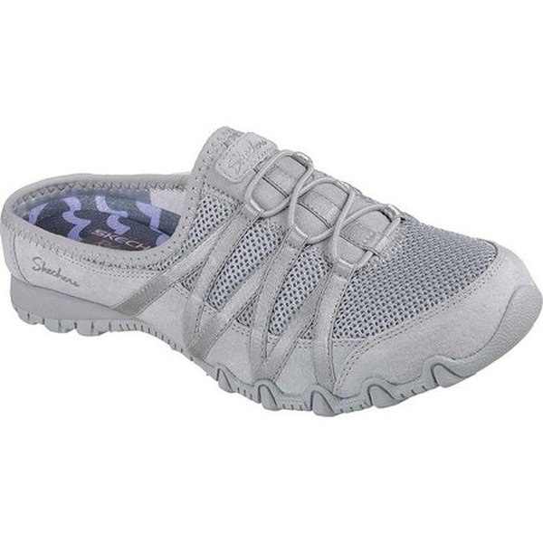024f51a78645 Shop Skechers Women s Relaxed Fit Bikers Cuddy Sneaker Clog Gray - Free  Shipping Today - Overstock - 20187508