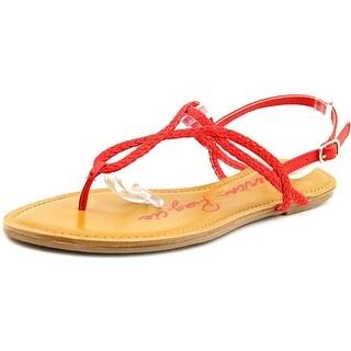 American Rag Keira Women Open Toe Synthetic Thong Sandal