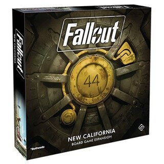 Fallout: The Board Game - New California Expansion - multi