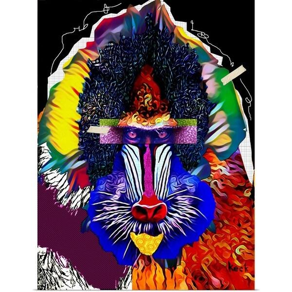 """Baboon"" Poster Print"