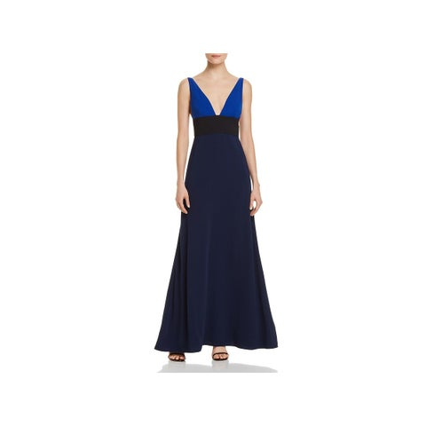 JILL Jill Stuart Womens Evening Dress V-Neck Formal