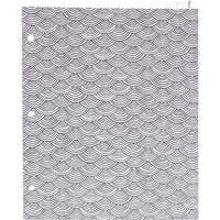 """Hall Pass Adult Coloring Folder 9.5""""X12""""-Scallop"""