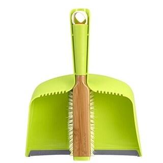 Full Circle Clean Team brush and dustpan set