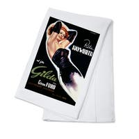 Gilda - Rita Hayworth (Capitani) Vintage Ad (100% Cotton Towel Absorbent)