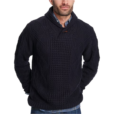 Weatherproof Mens Fisherman Pullover Sweater