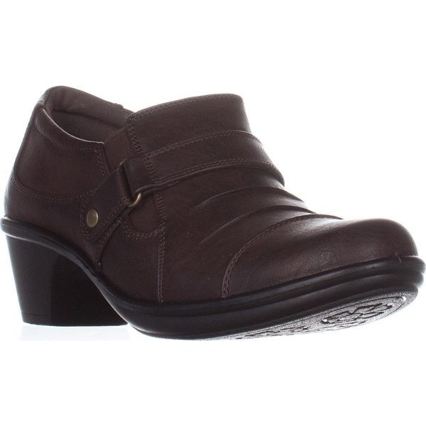 Easy Street Mika Ankle Boots, Brown - 8 us