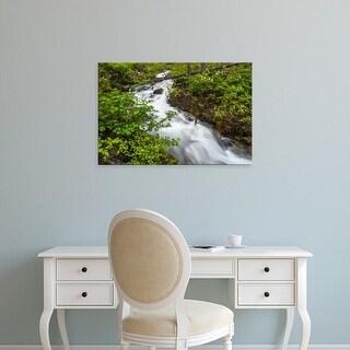 Easy Art Prints Chuck Haney's 'Hellroaring Creek' Premium Canvas Art