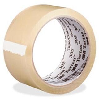 3M MMM30548X100CL Tartan Box-Sealing Tape 305, 36 Per Carton