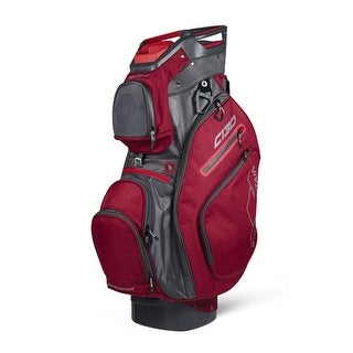 Sun Mountain 2018 C-130 Cart Bag - Chili / Gunmetal - chili / gunmetal