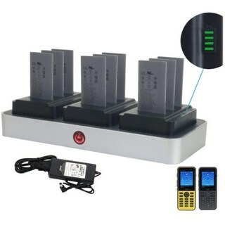 Zcover Ci821u3b-Na Battery Charger F/ Cisco Charges 9 Batteries W/ Na Ac Adapter