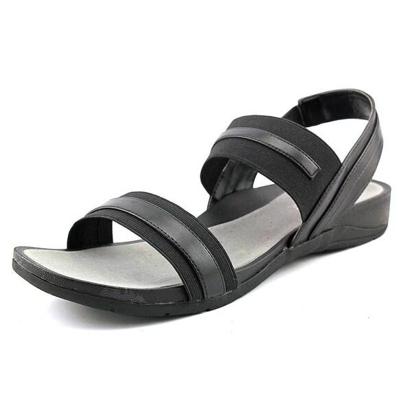 Easy Street Sweet Open-Toe Synthetic Slingback Sandal