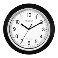 La Crosse WT-3129B Atomic Wall Clock with 4-Time Zone Settings, 12""