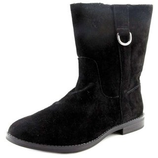 Alfani Womens Ancona Suede Closed Toe Ankle Cold Weather & Shearling