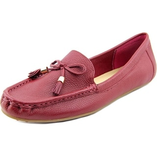 Isaac Mizrahi Amy Women W Moc Toe Leather Loafer