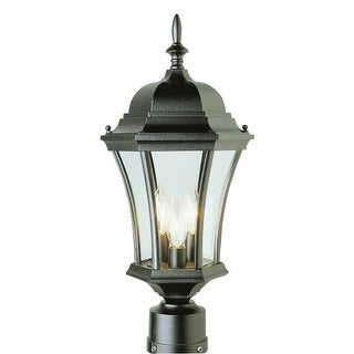 Trans Globe Lighting 4504 Three Light Up Lighting Outdoor Post Light from the Outdoor Collection