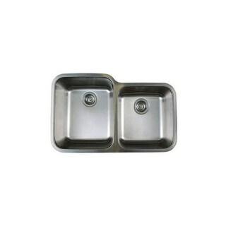 "Blanco 441023 Stellar 1-3/4 Dual Bowl Stainless Steel Kitchen Sink 32 1/3"" x 20 1/2"""