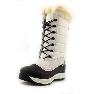 Baffin Iceland Women 3A Round Toe Canvas Snow Boot