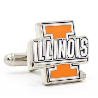 University of Illinois Fighting Illini Cufflinks - Orange
