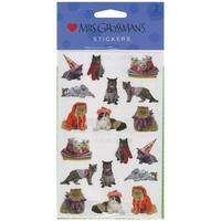Mrs. Grossman's Stickers-Pampered Cats