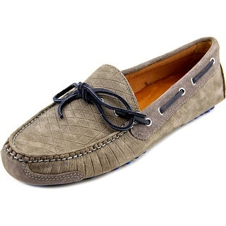 Cole Haan Gunnison II Men Round Toe Leather Gray Loafer