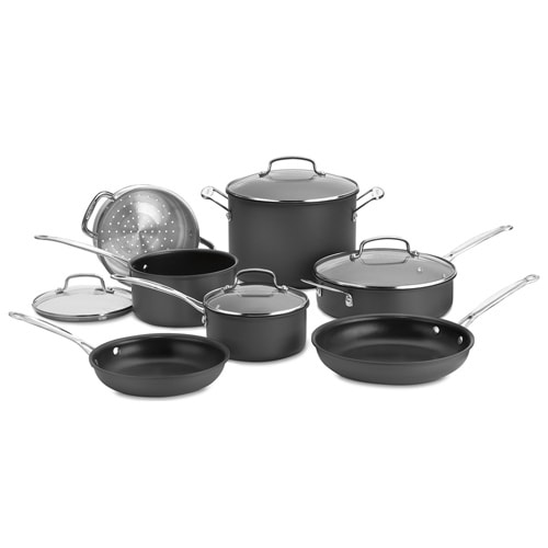 """11 Pc. Set Non-Stick Hard Anodized 11 Piece Set Non-Stick Hard Anodized"""
