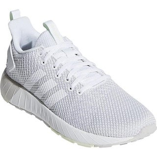 Shop adidas Women's NEO Cloudfoam QT Racer Sneaker Haze