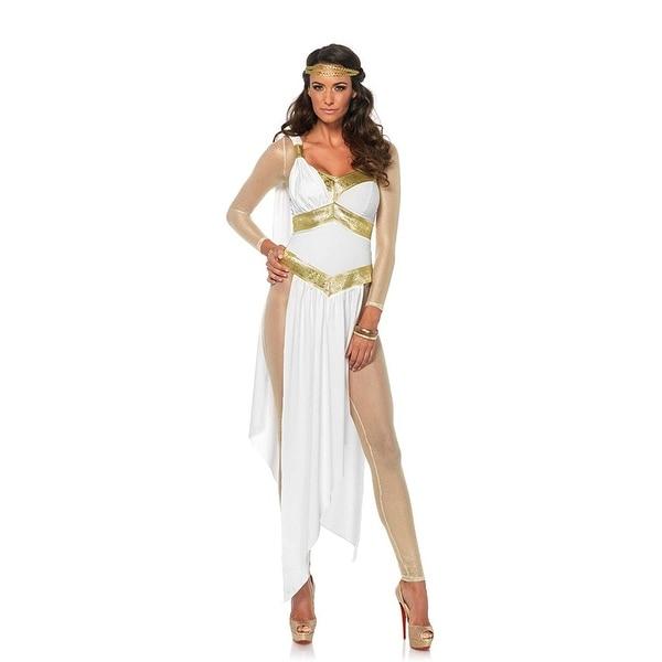 2ea3e91c0ad0e Greek Goddess Women's Bodysuit Costume - White