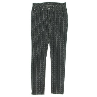 Levi's Womens Juniors Skinny Pants Twill Printed
