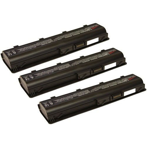 Replacement 4400mAh Laptop Battery for HP 586006-361 / Envy 17 1000 / Pavilion G4 1000 - 3 Pack