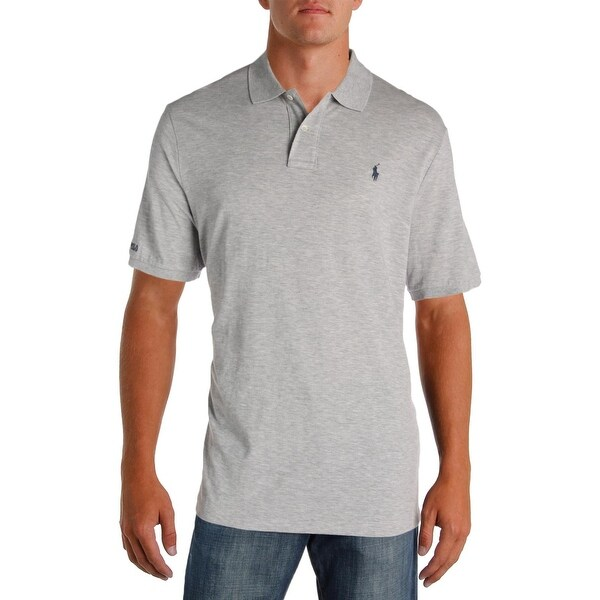 bb3110e2952 Shop Polo Ralph Lauren Mens Polo Shirt Classic Fit Heathered - Free  Shipping On Orders Over  45 - Overstock.com - 22581478