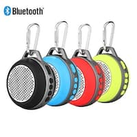 Portable Mini Bluetooth Speaker w/ Enhanced Bass & Built-in Mic, Compact Size for Home Outdoor Travel-Red