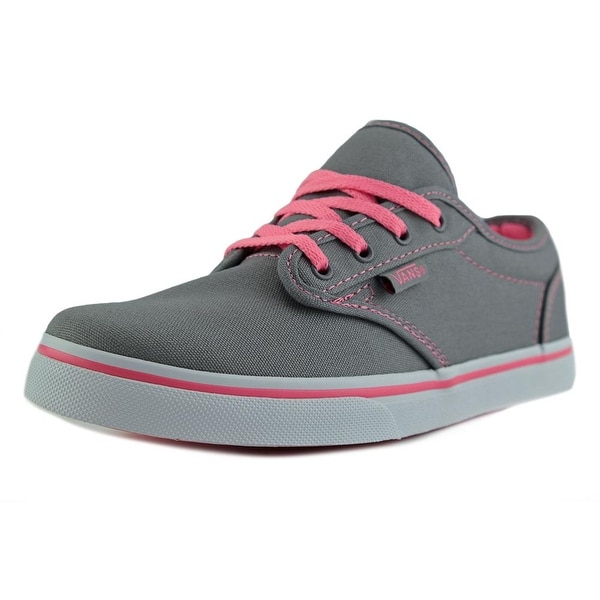 fc94e49f3c Shop Vans Atwood Low Girl Grey Pink Lemonade Athletic Shoes - Free ...