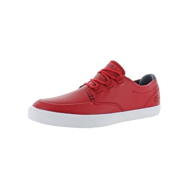 dbbc929c0 Shop Lacoste Mens Esparre Deck 318 Casual Shoes Leather Ortholite - 10  Medium (D) - Free Shipping Today - Overstock - 28078995
