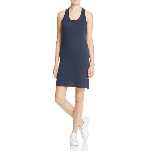 Alternative Blue Womens Size Medium M Scoop-Neck Tank Sheath Dress