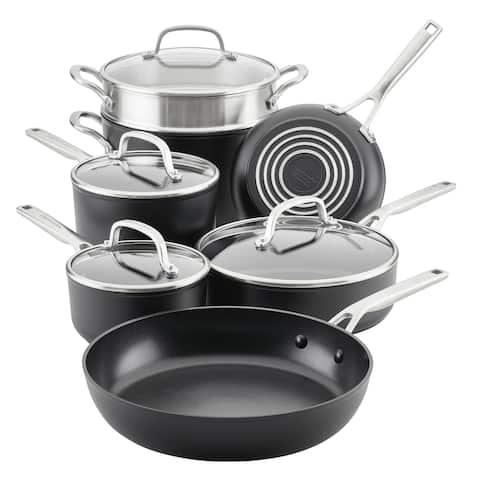 KitchenAid Hard-Anodized Induction Nonstick 11-Piece Cookware Set - 11 Pc