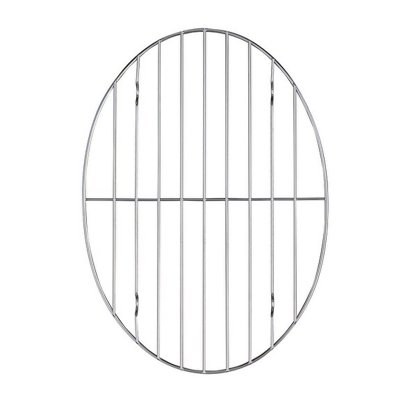 "HIC 43190 Roasting Rack, Oval, 8-1/2"" x 11-3/4"""