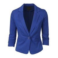 NE PEOPLE Women's 3/4 Sleeve Casual Blazer S-3XL [NEWJ100]
