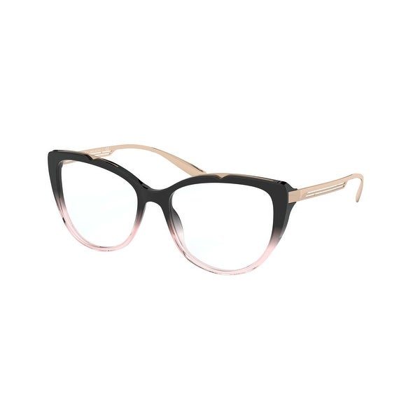 Gradient Holistic Logo Collection: Bvlgari BV4181 5449 53 Black Gradient Pink Woman Cat Eye