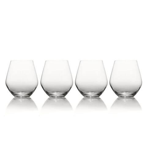 Mikasa Gianna Ombre Smoke 19oz. Stemless Glass (Set of 4)